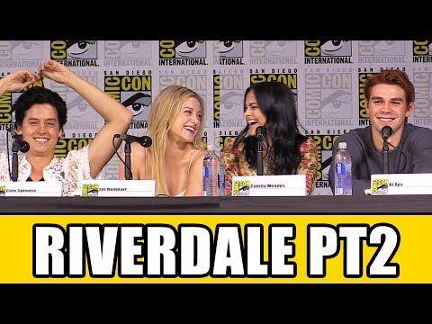 RIVERDALE Comic Con Panel Part 2 - Season 2, News & Highlights - YouTube