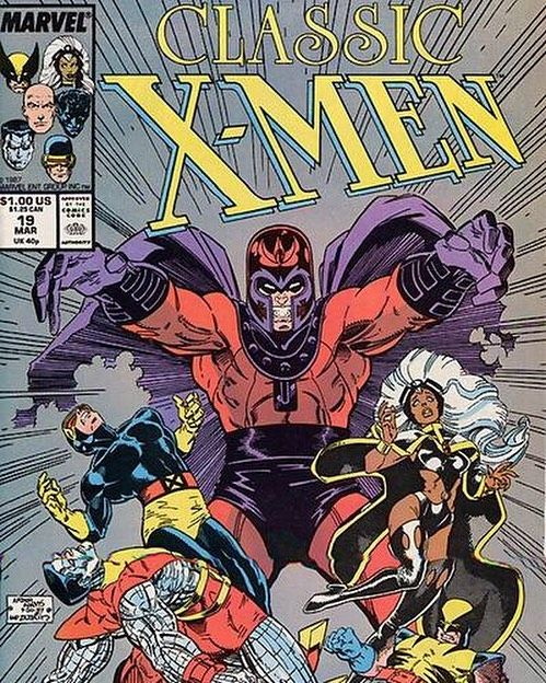 I lived for the issues of Classic X-Men to give me all the info on past issues as the internet did not exist back then  Artist Art Adam  #captainamericacivilwar #marvelcomics #Comics #comicbooks #avengers #marvel  #captainamerica #ironman #thor #hulk #hawkeye #blackwidow #spiderman #vision #scarletwitch #civilwar #spiderman #infinitygauntlet #blackpanther #guardiansofthegalaxy #deadpool #wolverine #daredevil #xmenapocalypse #xmen #cyclops #magneto #drstrange #infinitywar #thanos…