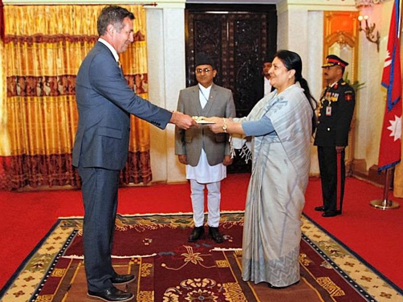 Randy Berry New Us Ambador To Nepal