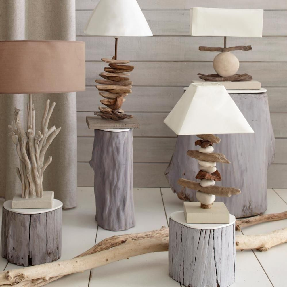 eco lamps eco chic pinterest treibholz lampen und beleuchtung. Black Bedroom Furniture Sets. Home Design Ideas