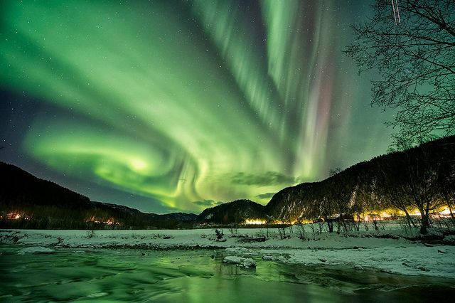 Aurora borealis, Sona, Norway