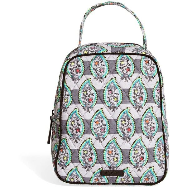 d1b009e766 Vera Bradley Lunch Bunch Bag ( 34) ❤ liked on Polyvore featuring paisley  stripes