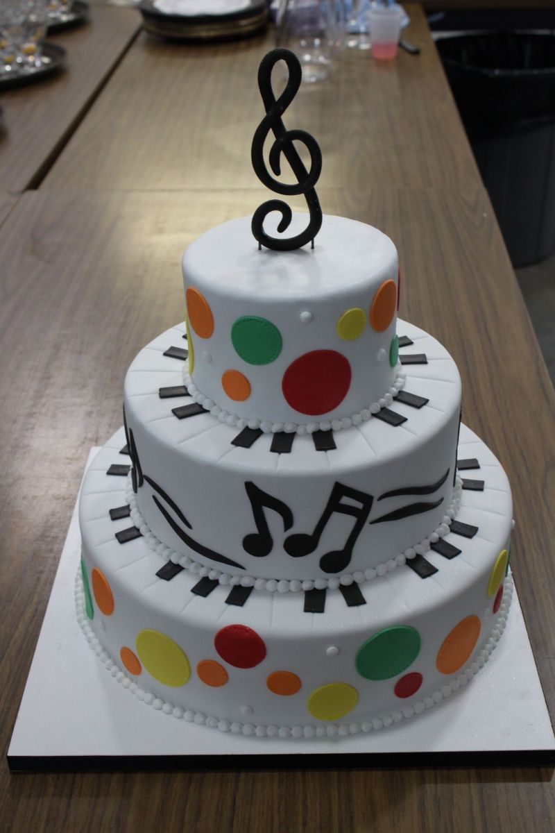 """Musical cake...no havent made this type of cake; but have made one the shape of a """"piano"""""""