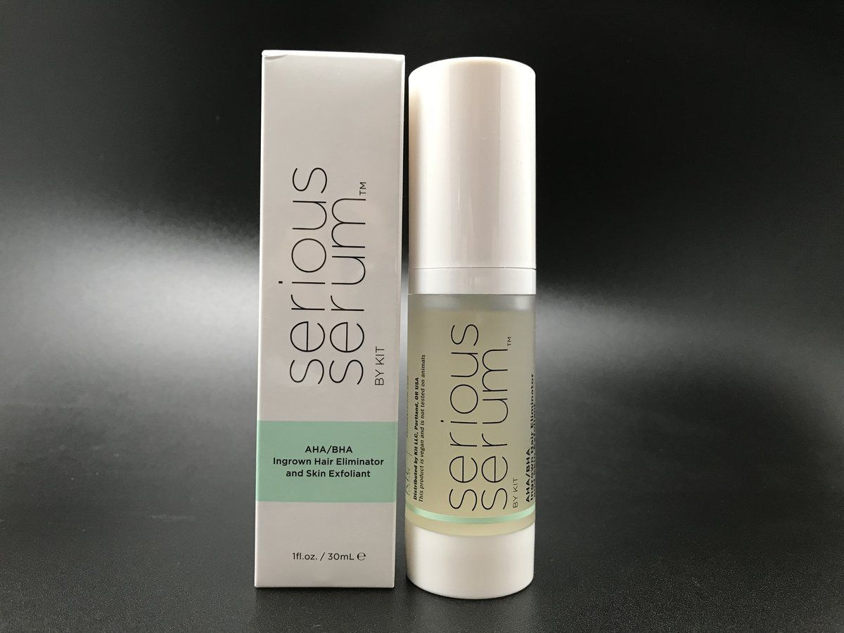 Serious Serum Exfoliating Gel. Mostly used by our waxing