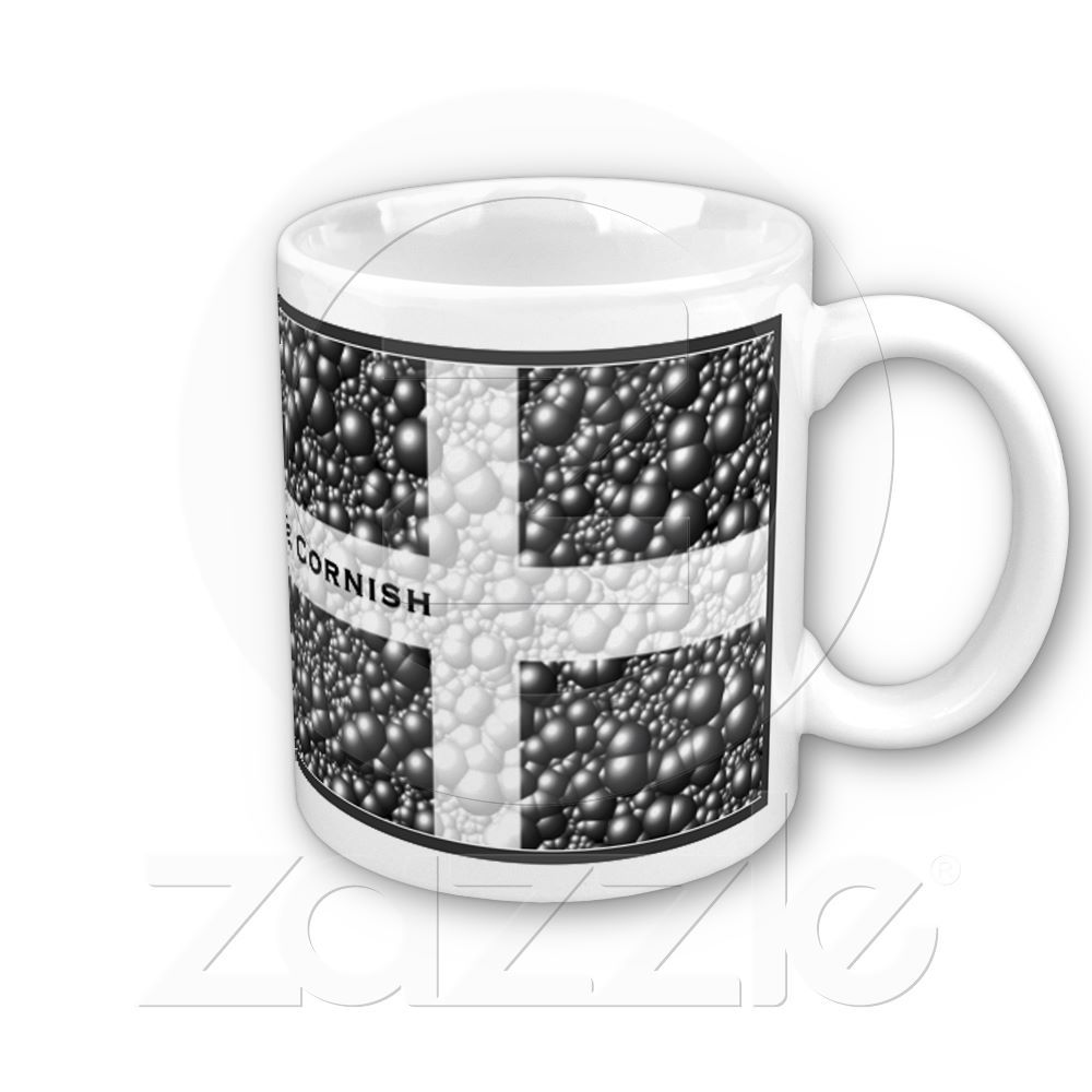 Cornwall Flag Bubble Textured Mug Created By Rosemariesw This Design Is Available On Coffee Mugs Travel Steins And Totally Customisable