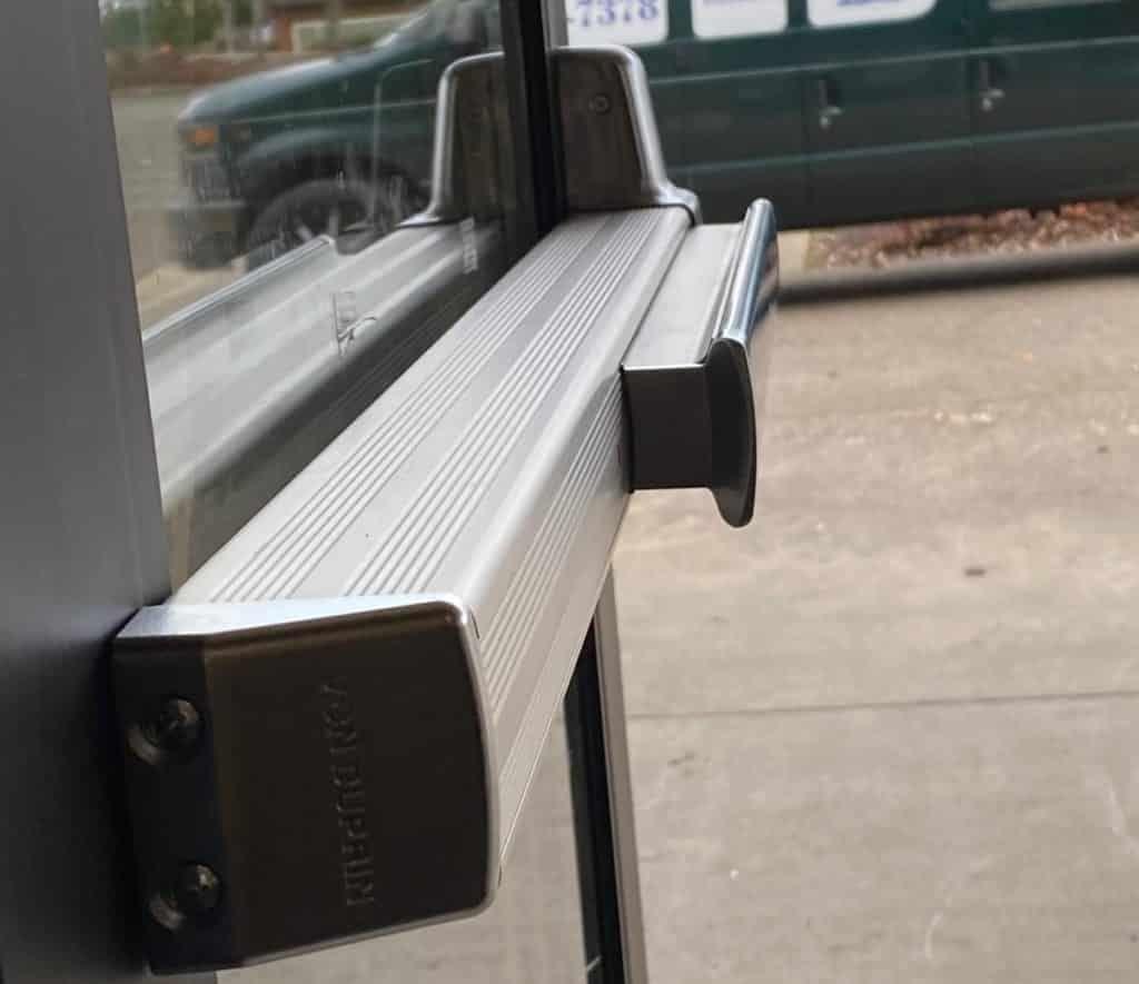 Panic Bar Door Repair: Commercial Door Security Bar The Biggest Moving Object In