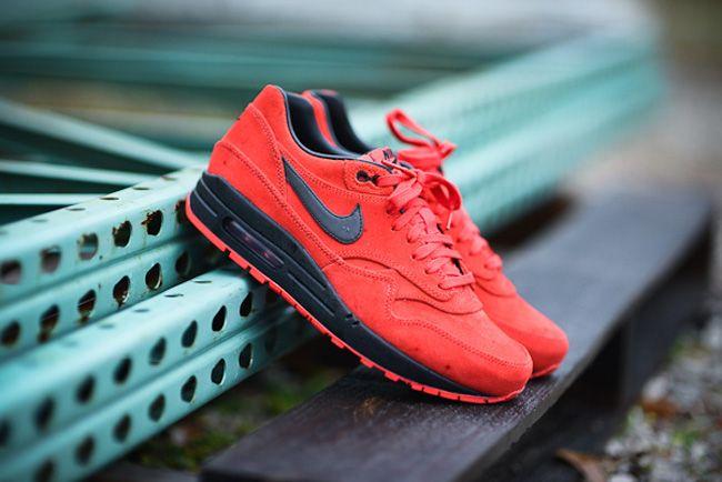 Nike Air Max 2013 Black Silver True Red