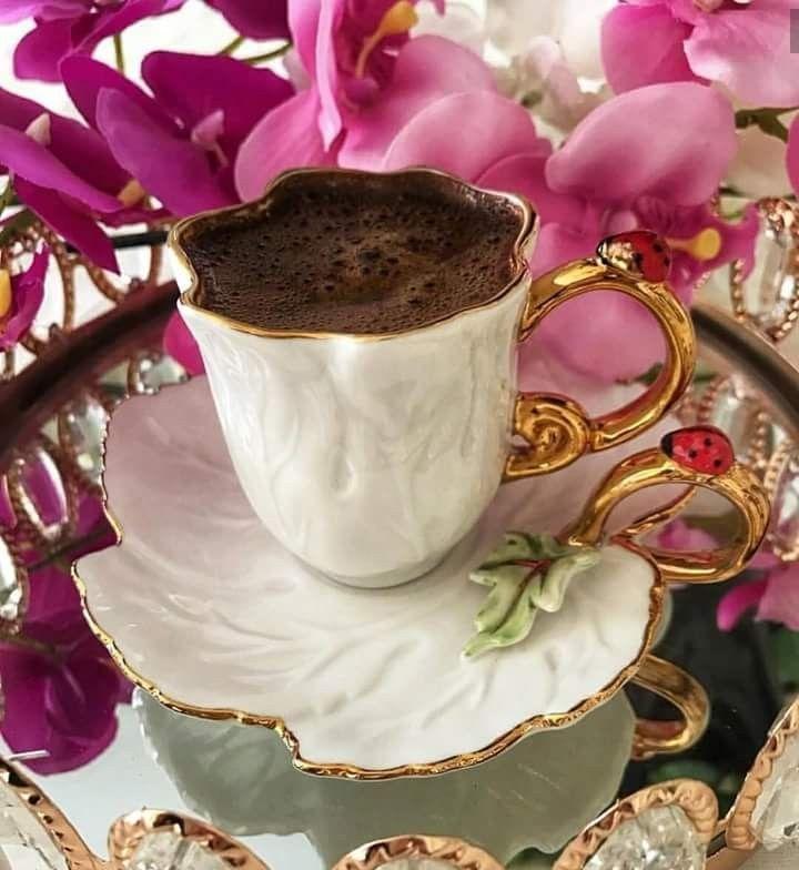 Картинки с добрым утром цветы кофе конфеты, коровки смешные