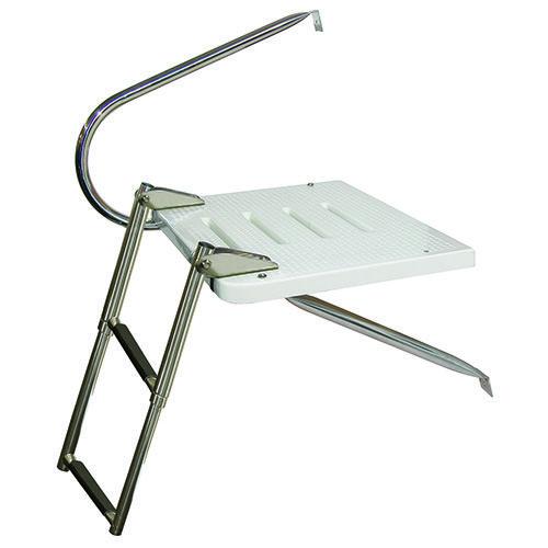 Jif 3 Step O B Ladder Transom Platform Eku4 With Images Ladder Platform Boat Parts