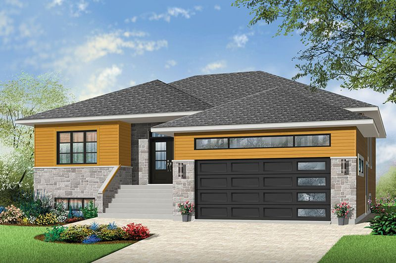Ranch Style House Plan - 2 Beds 200 Baths 1600 Sq/Ft Plan #23-2623 - plan maison en 3d gratuit