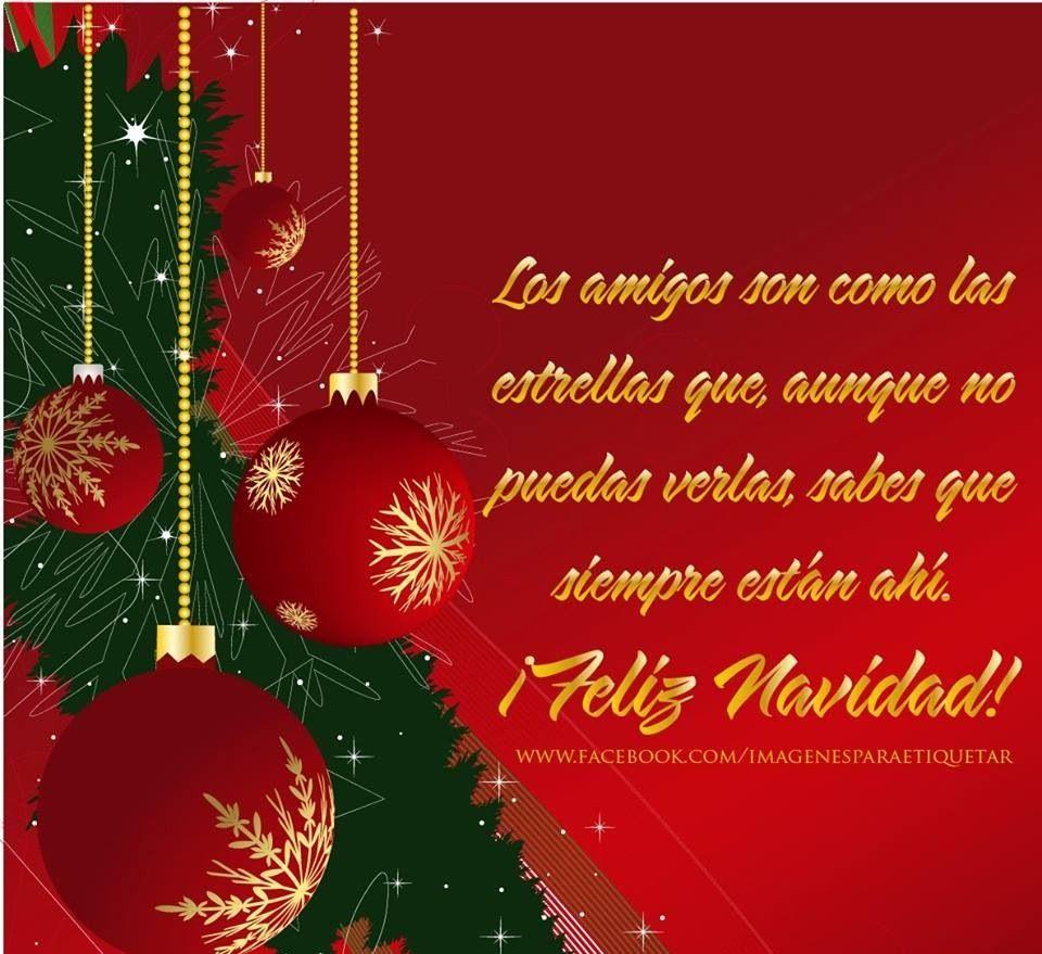 Feliz navidad amigos navide o pinterest navidad - Feliz navidad frases ...