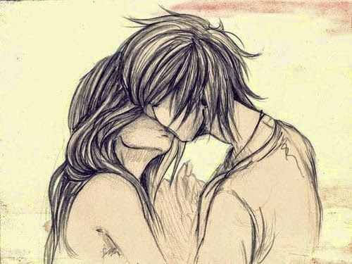 Pencil Sketches Of Couples And Friends Kiss Zizing Part Cute