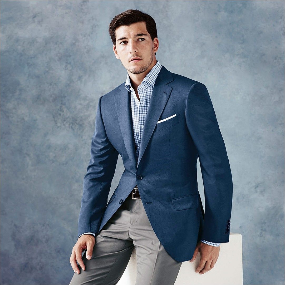Ermenegildo-Zegna-Bespoke-Suit-Sea-Blue.jpg (1082×1082) | Suits ...