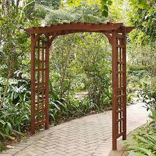 Pergolas And Gazebos Kits Wedding Arbor Wooden Garden Oasis Design Freestanding