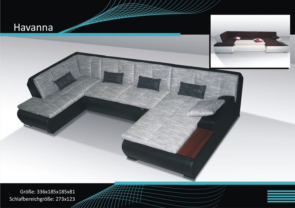 couchgarnitur schlafsofa polsterecke sofagarnitur sofa havanna wohnlandschaft wohnideebilder. Black Bedroom Furniture Sets. Home Design Ideas