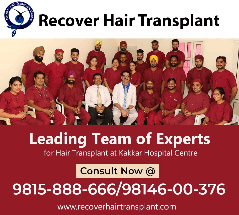 Want to regrow your hair? Recover hair transplant near