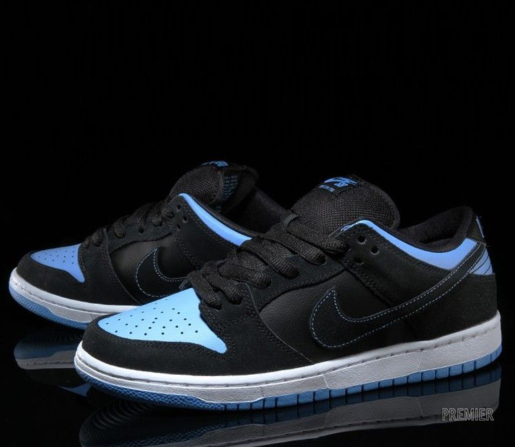 Nike SB Dunk Low-Black-University Blue-White