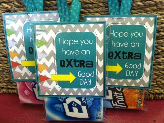 1000+ ideas about Extra Gum on Pinterest | Volunteer Appreciation ...