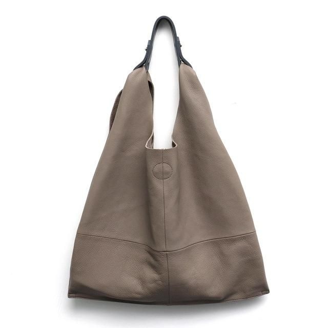 0b830ab5827d MONFERE Casual Women Hobo Bag Soft Genuine Cow Leather Fashion Shoulder Bags