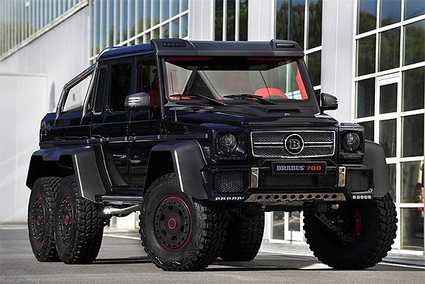 Brabus B63s The B63s Is An Insanely Overbuilt Version Of The G63