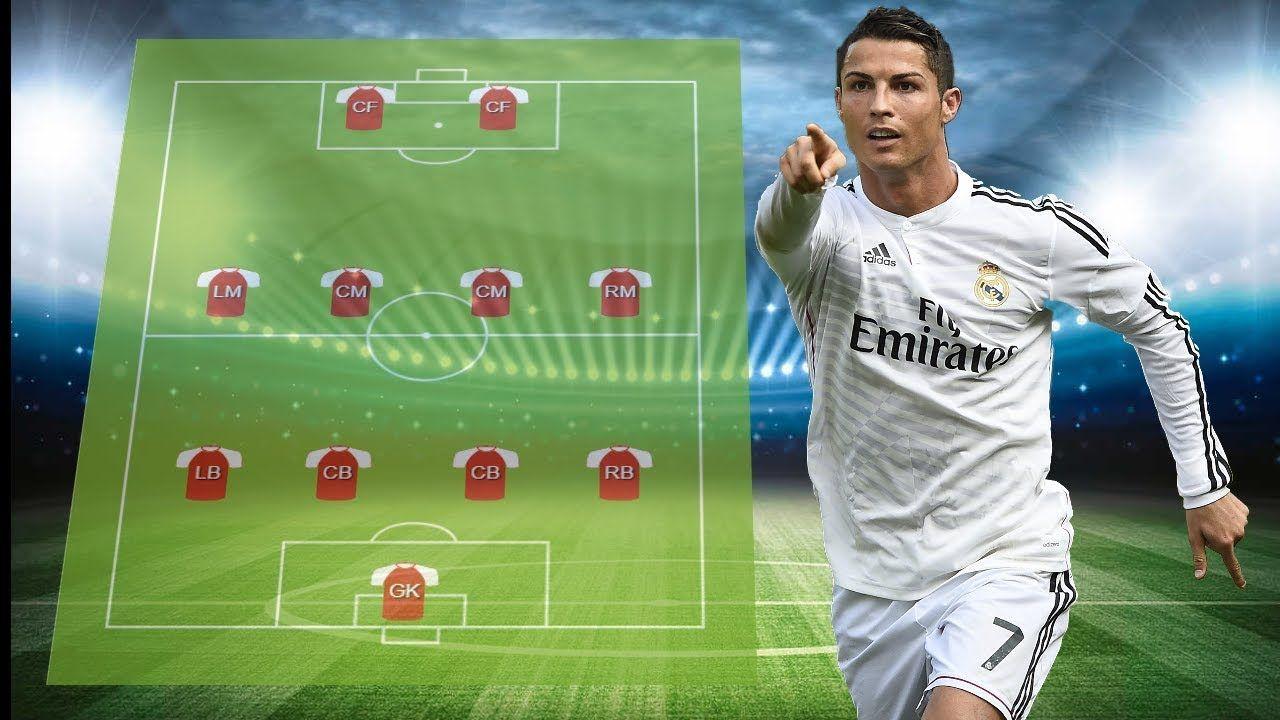 Cristiano Ronaldo S Dream Team 11 All Time Best Xi Soccer Field Dream Team Soccer