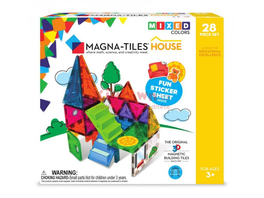 Magna Tiles 28 House
