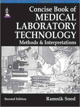 Concise Book of Medical Laboratory Technology PDF   Cells