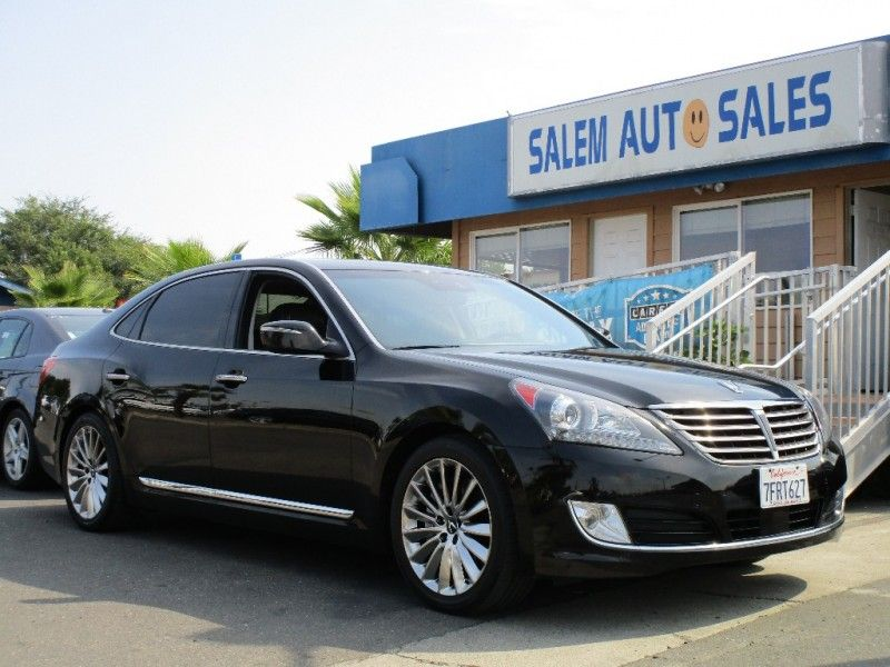 2014 Hyundai Equus Ultimate Edition Extremely Luxurious Salemautosales Sacramento Ca Cars For Sale Hyundai Sacramento