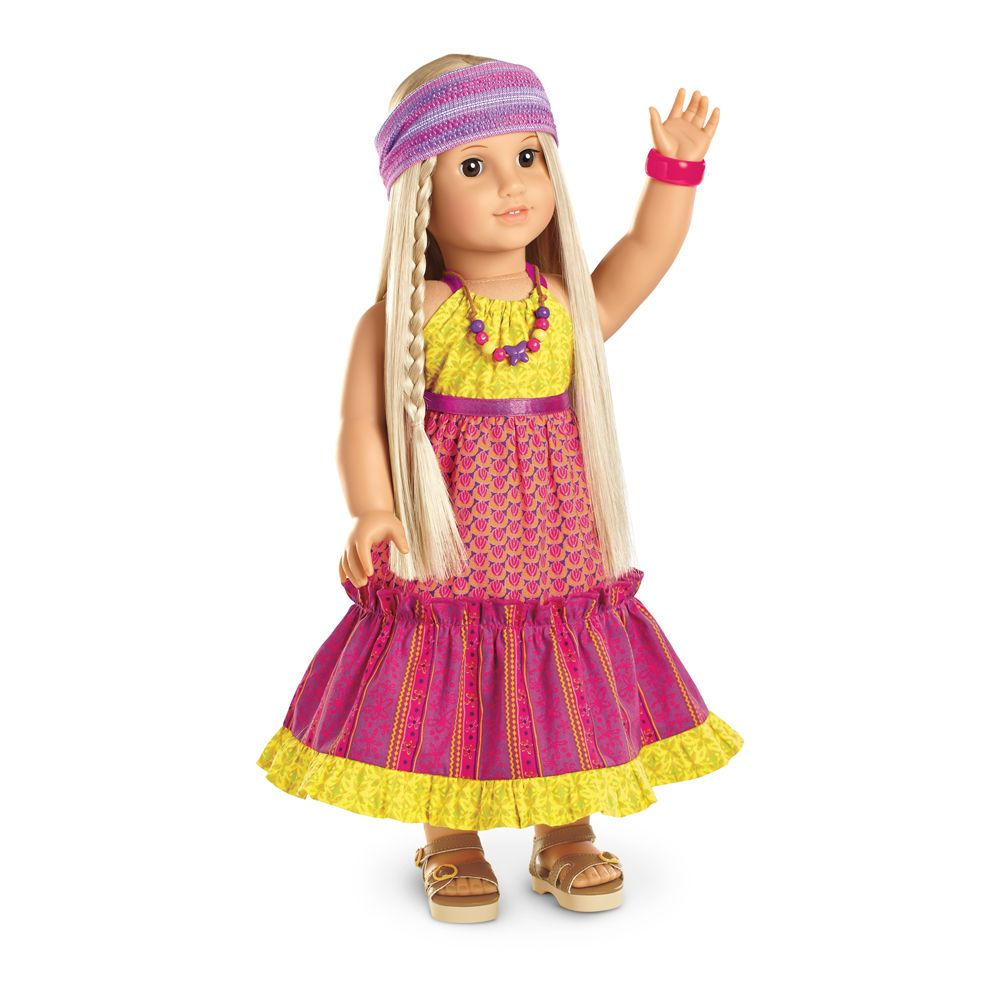 Julieus mixprint maxi dress chh american girl pinterest