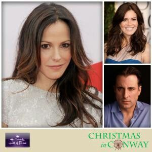 christmas at conway cast andy garcia mandy moore elisabeth louise parker - Christmas In Conway Cast