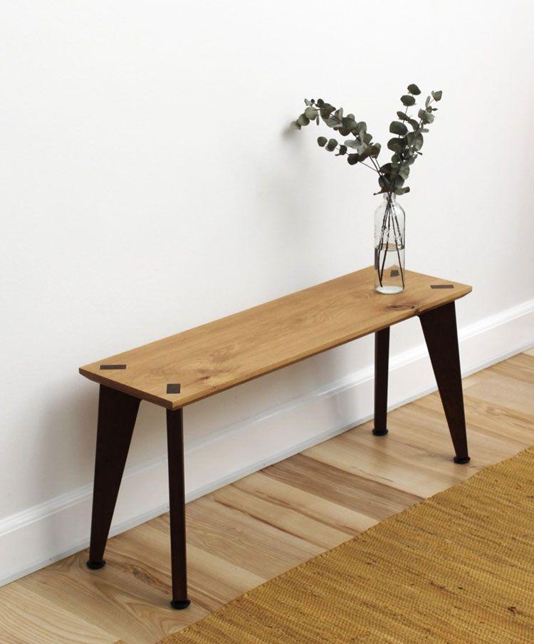 Sitzbank Rank Bench Von Roon Rahn I Holzdesignpur Haus Deko Innenarchitektur Wohnzimmer Dekor