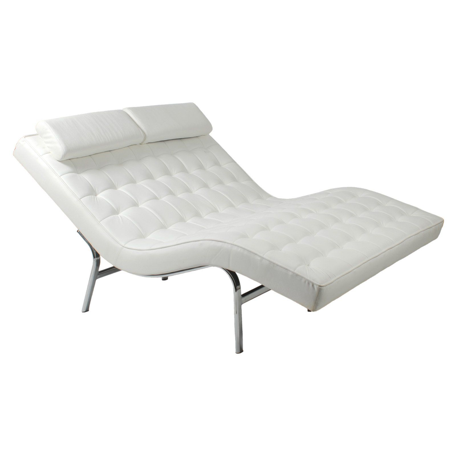 Euro Style Valencia Double Chaise Lounge Www Hayneedle Com Lounge Sessel Liegestuhl Sessel Weiss