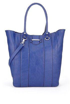 "Maks & Spencer ~ Blue shopper Bag ~ It kept screaming ""Buy me, buy me"" so with my Christmas money I did"