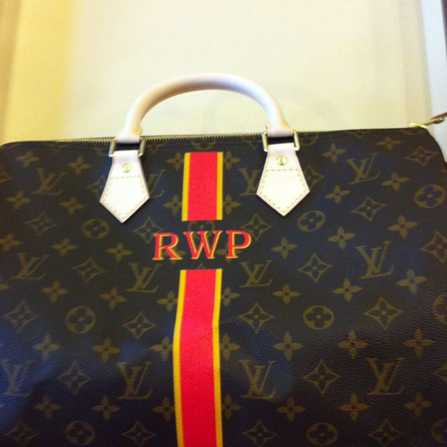 b5f85b04648 My newest LV Speedy Mon Monogram. Custom ordered. | Louis love ...