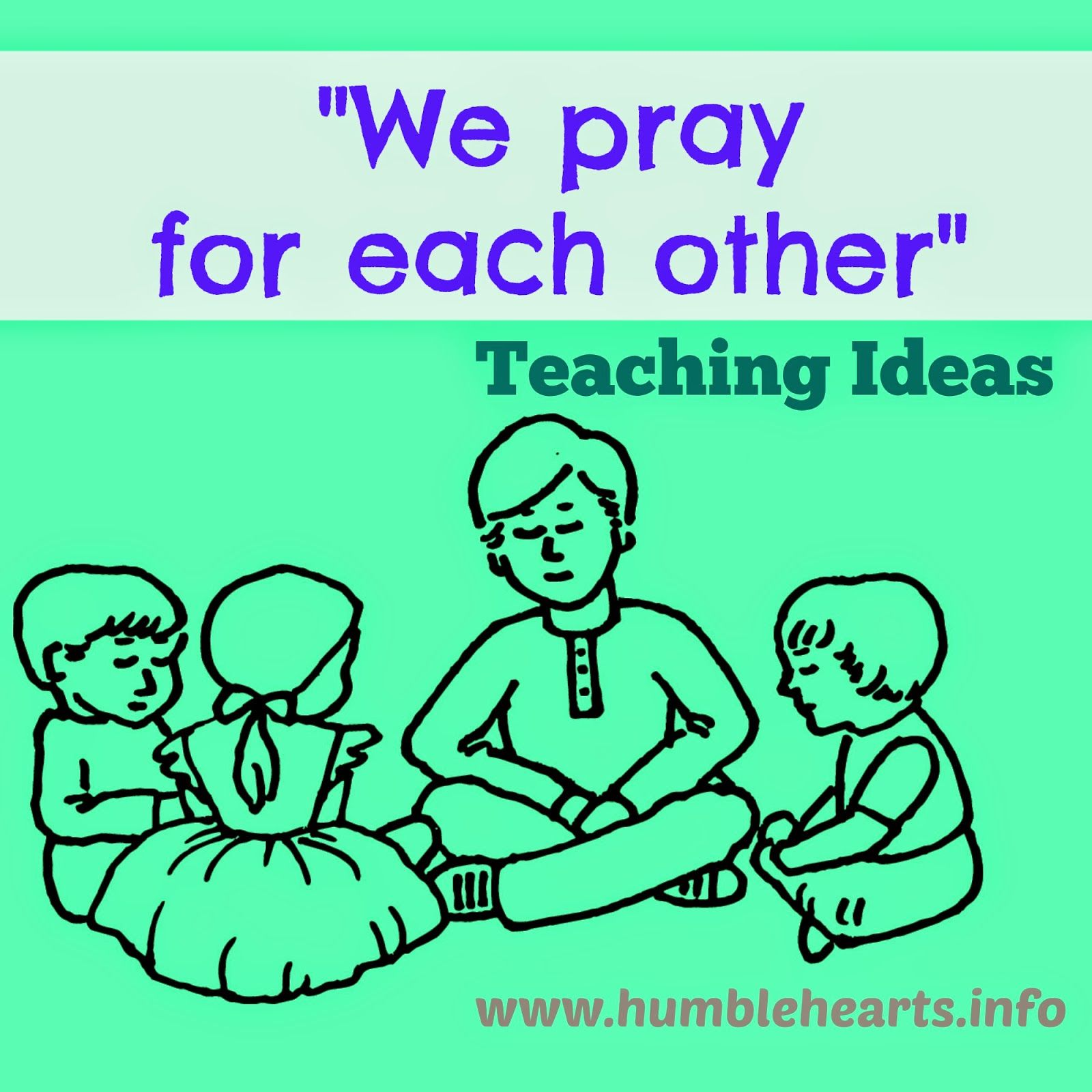 We Pray For Each Other\