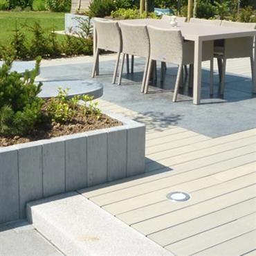 Terrasse bois terrasse bois Pinterest Terrasse bois, Terrasses - Pose De Carrelage Exterieur Sur Chape Beton