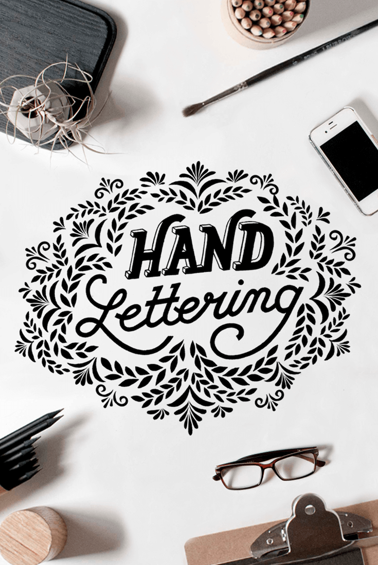 40 Examples Of Latest Trends In Nail Art For The Current Year: Hand Lettering Design: 40 Stunning Examples To Inspire You