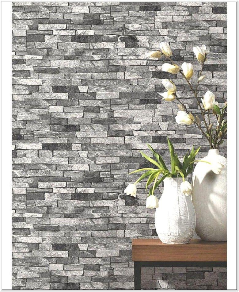 Decorating Ideas For Living Room Buffet Brick Wallpaper Living Room Wallpaper Bedroom Feature Wall Stone Wallpaper