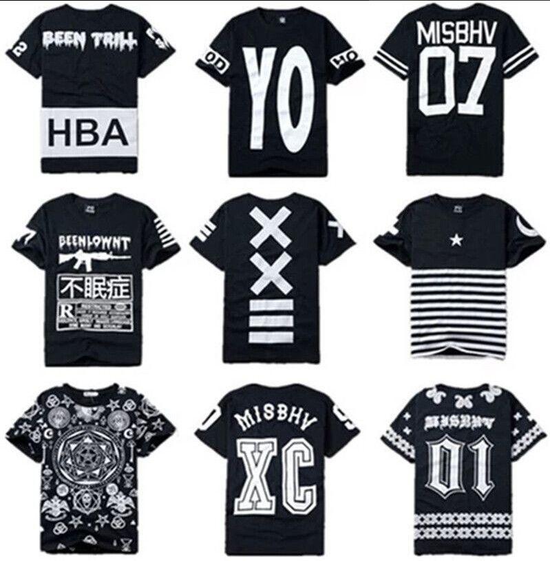 e4120bc5 Hip-Hop Streetwear Paisley Trill Kanye West Coast T-Shirt Unisex Tops RAP  Tee #NotOriginal #2 misbhv or phuck yo hood