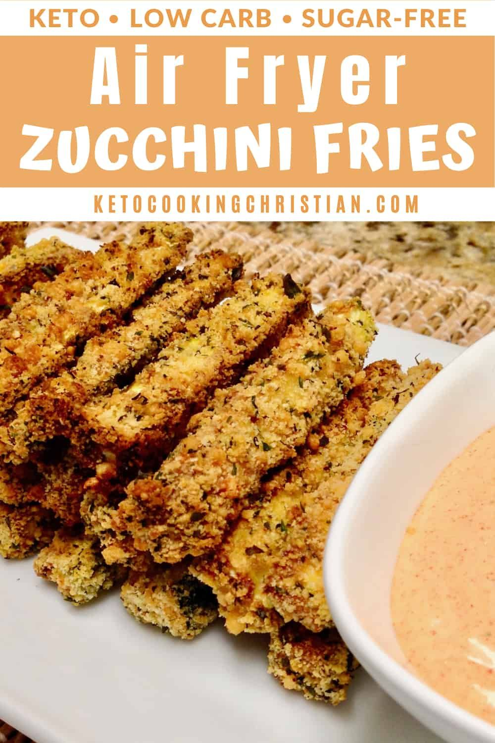Keto Air Fryer Zucchini Fries Looking for a healthy