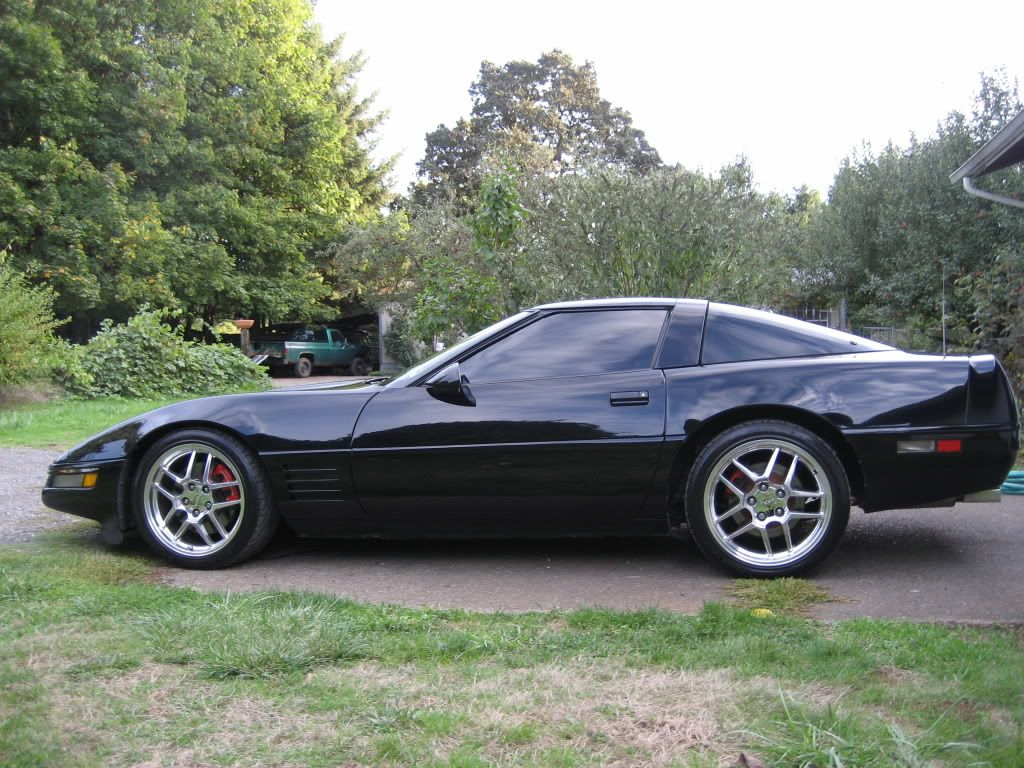 c4 corvette black wheels google search vehicle pinterest black wheels wheels and cars. Black Bedroom Furniture Sets. Home Design Ideas