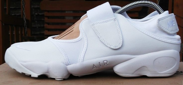 Nike Air Rift (Ninja) leather White | Touch Me | Pinterest | Nike air rift,  Leather and Shoe bag