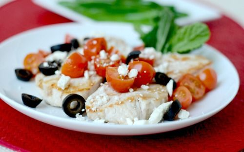 Grilled Greek Turkey Cutlets & Fresh Green Beans via www.ingredientsofafitchick.com @damienmase