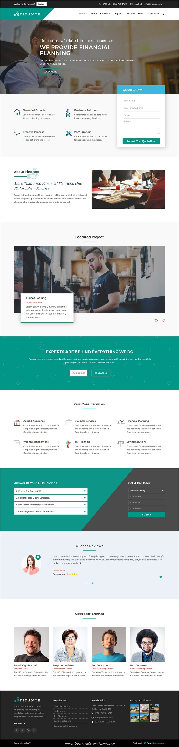 Finance consulting business html5 template template web finance consulting business html5 template friedricerecipe Gallery