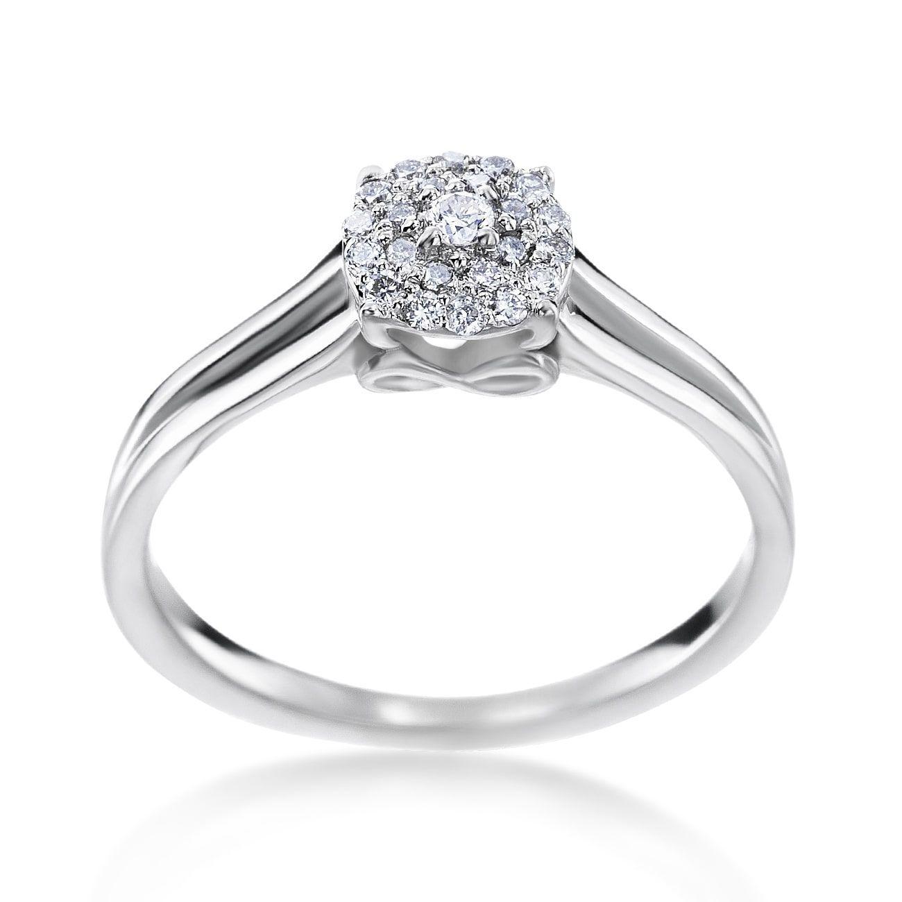 SummerRose 14k Gold 1/5ct TDW Diamond Fashion Ring