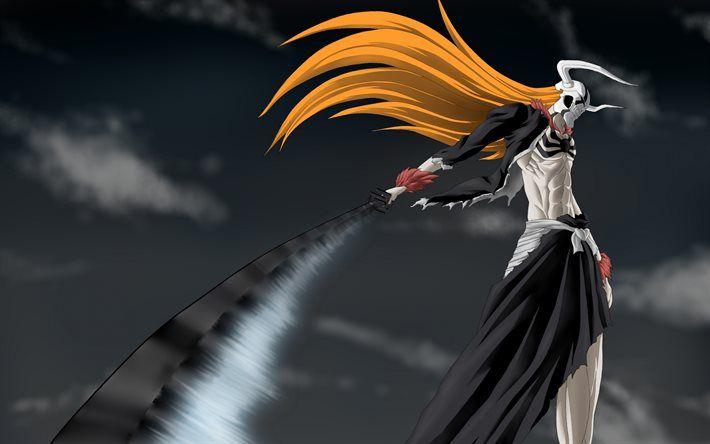 Ichigo Kurosaki 4k Characters Sword Manga Bleach Anime Wallpaper 1920x1080 Bleach Anime Ichigo Bleach Anime
