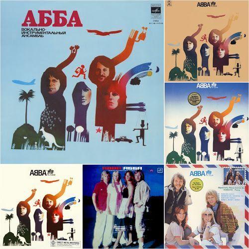 Abba The Album Artwork Abba And Mamma Mia Album Artwork