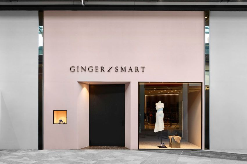 New Look Ginger Smart Retail Store At Pacific Fair Gold Coast By Flack Retail Facade Facade Design Retail Design