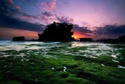 Tempat Wisata Di Bali Pura Tanah Lot Bali Silhouettes