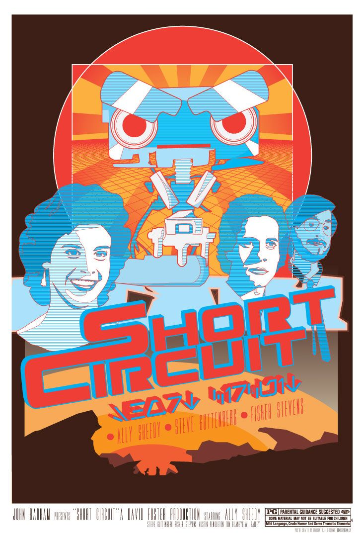 Short Circuit Number 5 Johnny Robot 1986 1988 Pinterest Is Alive From The Movie
